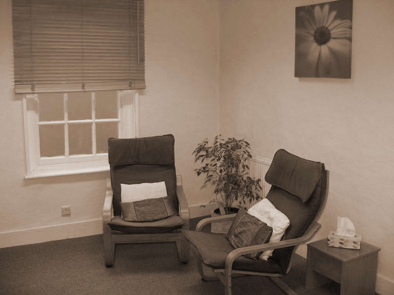 Internal view of the Berkshire Wellbeing Clinic